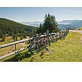 Pause & Auszeit, Fahrrad, Rast, Berchtesgadener Land