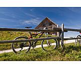 Pause & Auszeit, Fahrrad, Alm, Rast, Berchtesgadener Land