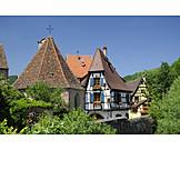 Elsass, Fachwerkhaus, Kaysersberg