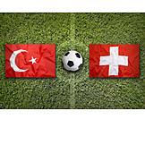 Soccer, Switzerland, Turkey
