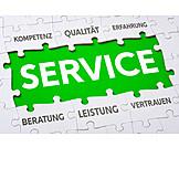 Service, Jigsaw Piece