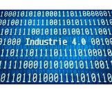 Industry, Binary Code, Automation