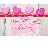 Valentinstag, Herzen
