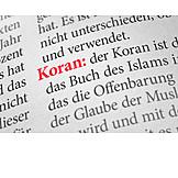 Islam, Koran, Holy Scripture