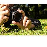 Wiese, Makro, Fotograf
