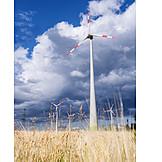 Meadow, Wind Power, Wind