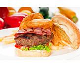 Fastfood, Hamburger, Amerikanische Küche