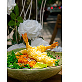Asian Cuisine, Shrimp