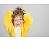 Child, Girl, Robe