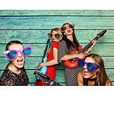 Party, Guitar, Friends
