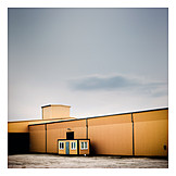 Industrial building, Warehouse, Factory building