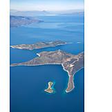 Luftaufnahme, Griechenland, ägäis