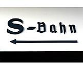 S, Bahn