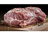 Meat, Raw, Beef, Veal