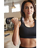 Weightlifting, Workout, Short dumbbell