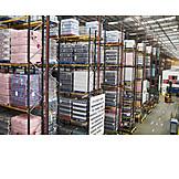 Logistik, Lager, Warenbestand