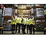 Logistics, Team, Warehouse, Staff, Mail Order Company