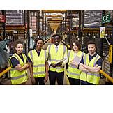 Logistik, Team, Vertrieb, Lagerist, Versandhandel
