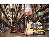 Logistics, Forklift, Fork Lift Driver
