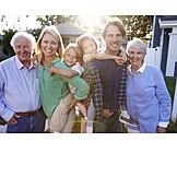 Familie, Familienportrait