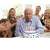 Grandfather, Senior, Birthday