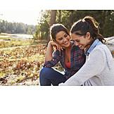 Couple, Autumn, Relationship, Lesbian