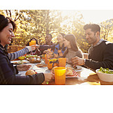 Eating, Autumn, Broiling, Barbecue