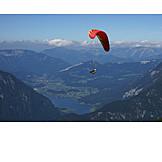 Paragliding, Lake hallstatt