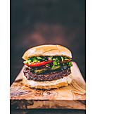 Knusprig, Cheeseburger, Amerikanische Küche