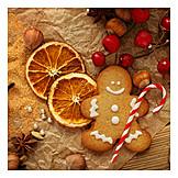 Christmas, Advent Season, Gingerbread Man