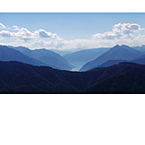 Mountain range, Mountainous region, Karwendel
