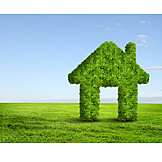 Ecologically, Ecological, Eco Friendly House