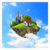 Alternative Energy, Detached House, Energy Plus-house