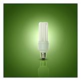 Umweltfreundlich, Energiesparlampe