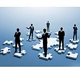 Teamwork, Puzzle Pieces