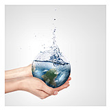Global warming, Water consumption, Water, Footprint