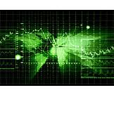 Finance, Economy, Binary Code
