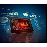Economy, Stock Market, Computer Graphics