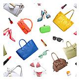 Bikini, Shoes, Handbag