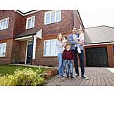 Immobilie, Familie, Eigenheim, Hauskauf