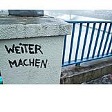 Vandalism, Continue, Graffito