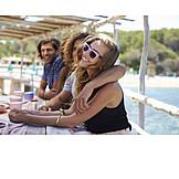 Sommer, Urlaub, Freunde, Ibiza