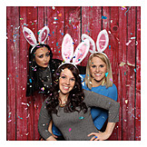 Carnival, Friends, Rabbit Ears, Bachelorette Party