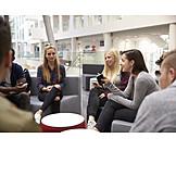 Diskussion, Studenten, Besprechung, Gruppenarbeit