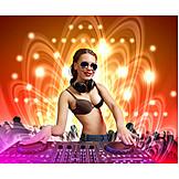 Nightlife, Party, Djane