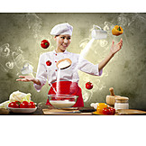 Gastronomy, Cooking, Cook