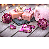 Body Care, Flowers, Bar Of Soap