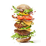 Hamburger, American Cuisine