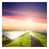 Alternative Energie, Solaranlage, Sonnenenergie