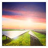 Alternative Energy, Solar Plant, Solar Energy